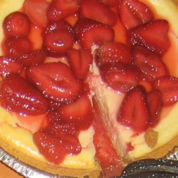 Daniel's Favorite Cheesecake Recipe - This is my husband's favorite recipe for cheesecake. The flour adds a texture that makes it unique.  You can use a pastry crust instead of graham, if you prefer.