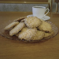 Oatmeal Coconut Thin Crisps Recipe - These are an adaptation of a great recipe I found in a cookbook, they are also great dipped in melted chocolate