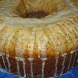 Poppy Seed Cake III Recipe - A moist pound cake. Can be baked in tube, Bundt, or 2 loaf pans.