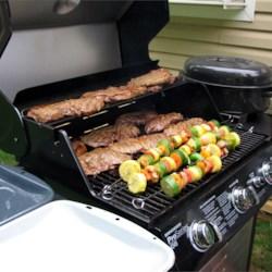 Montreal Peppered Steak & Tarragon Vegetables