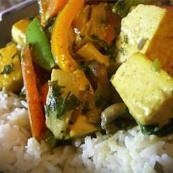 Spicy Thai Tofu curry