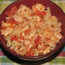 Shrimp & Feta Cheese Pasta
