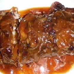 Welcome Home Cranberry Pork Roast