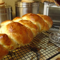 Challah II Recipe - This is a honey-sweetened version of the classic Jewish egg bread.