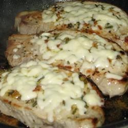 Pork Chop & Feta Skillet