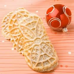 Pizzelles II Recipe - An thin traditional anise flavored Italian cookie made with a pizzelle iron.