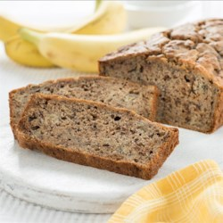 Best Ever Banana Bread from I Can't Believe It's Not Butter!(R) Recipe - This super moist and delicious banana bread is easy to make, and a great go-to snack for the entire family.