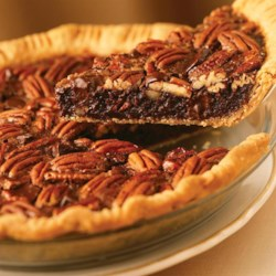 Chocolate Pecan Pie from Karo(R) Recipe - Chocolate adds another level of delicious to this classic pecan pie.