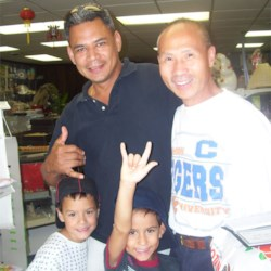 The owner of Oriental Imports, Mr. Lee