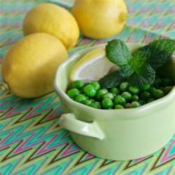 Lemon Pea Salad Recipe - Fresh peas tossed with lemon juice, salt, and pepper make a delightful summer pea salad.