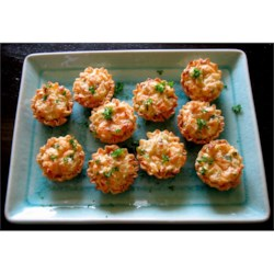 King Crab Appetizers Recipe - These crab tartlets have long since been a family favorite and are requested often at holiday get togethers.