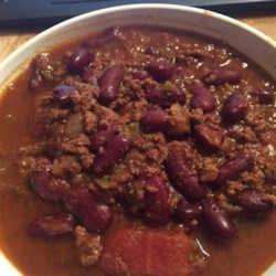Pressure Cooker Chili Recipe - Chili cooked in a pressure cooker is fast, and the spices and unsweetened cocoa give it a rich flavor.