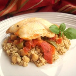 Spanish Moroccan Fish Recipe - This Moroccan recipe was passed down for generations in my family. We usually serve it on the Sabbath night and holidays. It is a favorite! This dish may be served hot or cold according to taste.