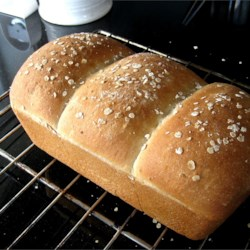 Light Oat Bread Recipe - A mild oat flavor distinguishes this bread machine loaf.