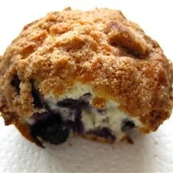 Mmmm... sweet crunchy topping!