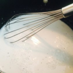 Coconut Milk Syrup Recipe - This quick and simple recipe with coconut milk, sugar, salt, and cornstarch is based on the coconut syrup found commonly in Hawaii.