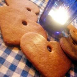 Pepparkakor I Recipe - A traditional Swedish Christmas recipe,  they are crispy, brown, and delicious plain or decorated. Different from your everyday gingersnap!