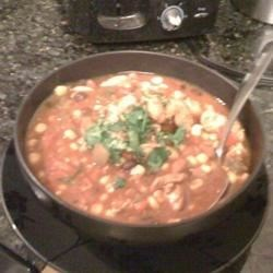 Chicken and Black Bean Chili