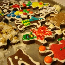 Chocolate Gingerbread Cookies Recipe - Very good, and not to hard to make.