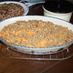 Sweet Potato Casserole IV Recipe - A delicious alternative to candied sweet potatoes.
