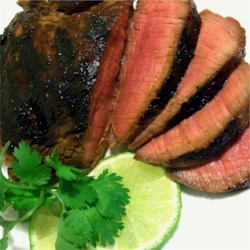 All Purpose Lime Marinade Recipe - Lime juice, teriyaki sauce, and ancho chili powder combine to create a great marinade. It is good on just about anything.