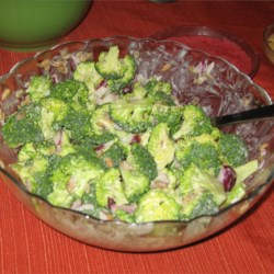 Broccoli Salad I Recipe - A healthy, bright salad.