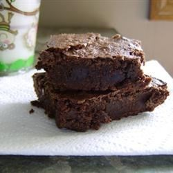 Fudge Brownies I Recipe - This is a great recipe for chocolate brownies with nuts!