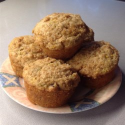 Super Duper Zucchini Muffins Recipe - A delightfully spiced muffin that tastes great in the morning, or any time!