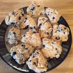 Blueberry Scones Recipe - These meltingly good scones are rich with blueberries and cream.