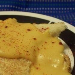 Welsh Rarebit on Toast