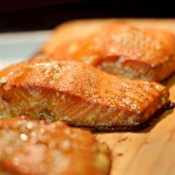 Cedar Planked Salmon Recipe and Video - This is a dish my brother prepared for me in Seattle. It is by far the best salmon I've ever eaten. I like to serve it with an Asian-inspired rice and roasted asparagus.