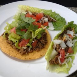 Ground Beef with Homemade Taco Seasoning Mix Recipe and Video - Taking just a little extra time to make this flavorful ground beef makes all the difference in your homemade tacos!