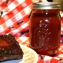Bourbon Whiskey BBQ Sauce Recipe - Lots of good stuff go into this terrific sauce: brown sugar, ketchup, liquid smoke, Worcestershire, hot pepper sauce, a few other yummy ingredients and almost one cup of whiskey. The ribs won't know what hit them.