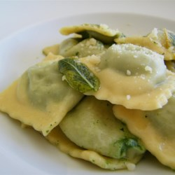 Spinach, Feta, and Pine Nut Ravioli Filling Recipe - Fill your homemade pasta with this tangy stuffing.