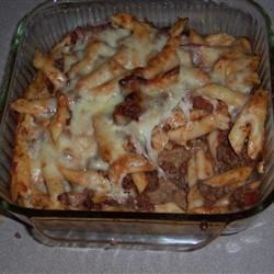Baked Ziti (Meatlovers version)