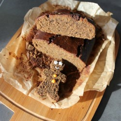 Gingerbread Cake - Vegan and Gluten-Free  Recipe - This nicely spiced gingerbread cake is loaded with whole grains for a gluten-free, vegan treat.