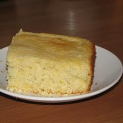 Waikiki Cornbread Recipe - Buttermilk baking mix is the foundation for this buttery, sweet cornbread.