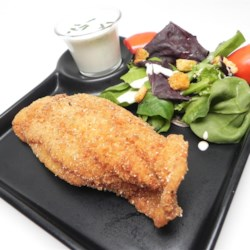 Pan-Fried Dover Sole Recipe - Pan-fried Dover sole that are coated in crunchy cracker crumbs is a quick and easy weeknight meal that the whole family will like.