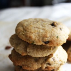 Zucchini Cookies Recipe - Spicy drop cookies with a soft moist texture that are made with zucchini and raisins.
