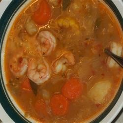 Fresh Vegetable Soup Recipe - In this hands-off soup, celery, cabbage, bell pepper, zucchini, onions and tomatoes are simmered with onion soup mix and garlic until tender.