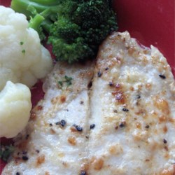 Quick and Easy Broiled Tilapia Parmesan
