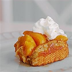 Grandma's Peach French Toast Recipe - My mother gave me this to use at my mother group. Everyone loved it so I decided to post it and share the great blend of peaches and French toast. Smells great when cooking.