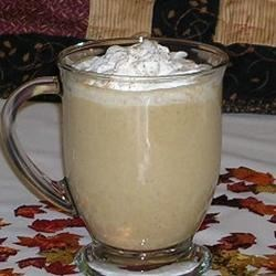 Famous No Coffee Pumpkin Latte Recipe - You won't miss the coffee in this creamy and satisfying pumpkin and spice latte. For a special treat, top with whipped cream and a pinch of nutmeg.