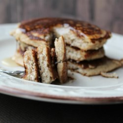 Amazing Almond Flour Pancakes (Gluten-Free and Paleo-Friendly) Recipe - This recipe for almond flour pancakes is not only gluten-free and paleo-friendly, but it's delicious to boot! Top with maple syrup and fresh fruit.