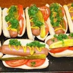 Chicago dog buns