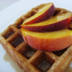 Cinnamon Belgian Waffles Recipe and Video - I tried several Belgian waffle recipes after getting my iron.  In the end, I combined my 1st choice with my husbands favorite to come up with this recipe.