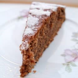 Chocolate Black Tea Cake Recipe - This is an Austrian recipe that was passed on from one generation to the next in my family. The secret of this cake's full flavour and softness: Prepare it one day in advance before eating it!