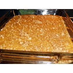 Pumpkin Pie Bars by EAGLE BRAND(r) Recipe - Take your pumpkin pie to go with these handy pumpkin pie bars. A great way to make pumpkin pie for a crowd.
