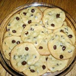 Never Fail Chocolate Chip Cookies Recipe - This is a dynamite chocolate chip dough that has never failed me.