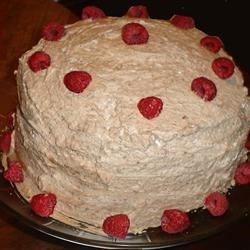 Lemon Raspberry Mousse Cake